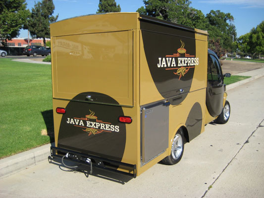 Warner Bros. Java Express Coffee Truck